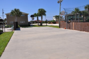 Cottage Campus Front Basketball Court
